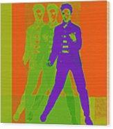 Elvis Jail House Rock 20130215m28 Wood Print