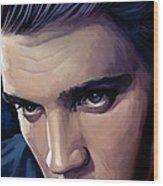 Elvis Presley Artwork 2 Wood Print