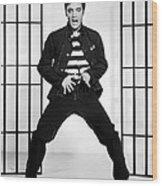 Elvis Presley In Jailhouse Rock 1957 Wood Print