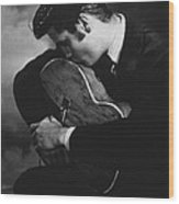 Elvis Presley Kisses Guitar Art Print By Retro Images Archive