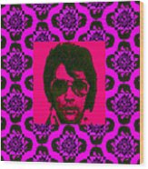 Elvis Presley Window M88 Wood Print