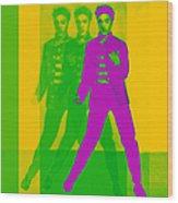 Elvis Three 20130215 Wood Print