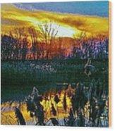 Emagin Sunset Wood Print
