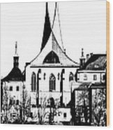 Emauzy - Benedictine Monastery Wood Print