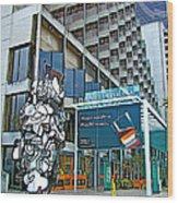 Embarcadero Buildings In San Francisco-california  Wood Print