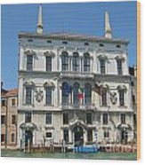 Embassy Building Venice Italy Wood Print