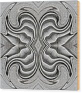Embellishment In Concrete 3 Wood Print