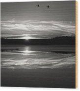Ember Sunset Wood Print