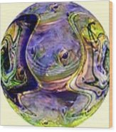 Embryonic Wood Print