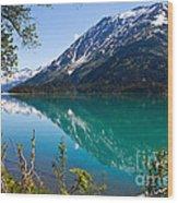 Emerald Reflections  Wood Print by Chris Heitstuman