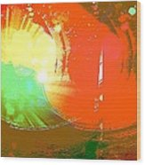 Emergent Sun Wood Print