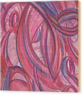 Emerges From Us Wood Print by Kelly K H B