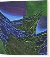 Emersion Wood Print by Corina Bishop