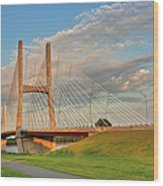 Emerson Bridge Wood Print