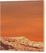 Emigrant Gap Wood Print by Bill Gallagher