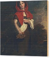Emily Anderson Little Red Riding Hood Wood Print