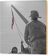 Emmitsburg 9 - 11 Memorial Wood Print