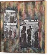 Emotional Breakdown By Alfredo Garcia Wood Print
