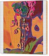 Emotional Colors Wood Print