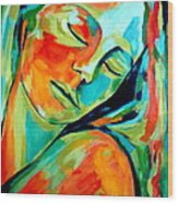 Emotional Healing Wood Print