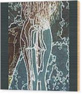 Emotionally Fragile Wood Print