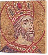 Emperor Constantine I Wood Print