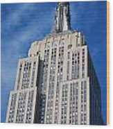 Empire State Building - Nyc Wood Print