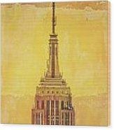 Empire State Building 4 Wood Print
