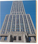 Empire State Building Rising I Wood Print