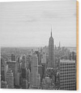 Empire State Nyc Wood Print