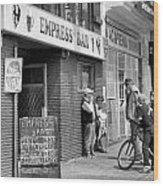 Empress Bar Wood Print