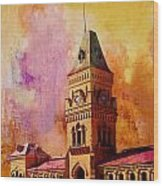 Empress Market Wood Print