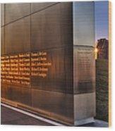 Empty Sky Nj 911 Memorial  Wood Print