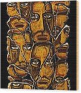 Empyreal Souls No. 5 Wood Print by Steve Bogdanoff