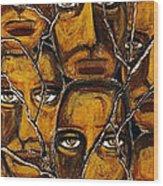 Empyreal Souls No. 5 - Study No. 1 Wood Print