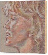 En Firad Skonhet  Wood Print