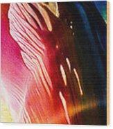 Encaustic 204 Wood Print
