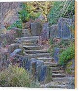 Enchanted Stairway Wood Print
