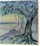 Enchanted Tree Wood Print