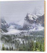 Enchanted Valley Wood Print