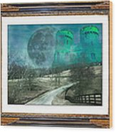 Enchanting Evening With Oz Wood Print