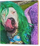 End Bsl You Cant Arrest Me Cause I'm Lady Gaga Wood Print by Q's House of Art ArtandFinePhotography