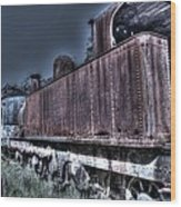 End Of The Line. Wood Print by Ian  Ramsay