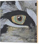 Endangered Eye I Wood Print