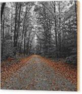 Endless Wood Print