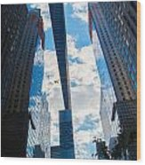Endless Sky Wood Print
