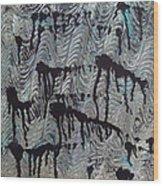 Endless Waters Wood Print