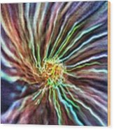 Energy - Abstract  Wood Print