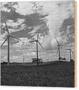 Energy  Wood Print