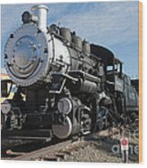 Engine 4455 In The Colorado Railroad Museum Wood Print